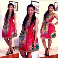 £9.99 GBP - Fashion Womens Sleeveless African Print Bubble Skirt Ladies Straight Party Dress #ebay #Fashion