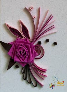 neli: Quilling small cards