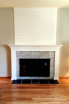 DIY Fireplace MakeoverIn A Weekend By