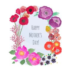 Free Mother's Day Printable - Sanae Ishida