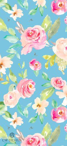 Free Wallpaper Downloads   CW Design   Surface Pattern Designs