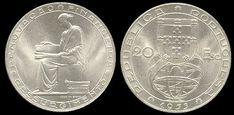 20 Escudos, prata, 1954