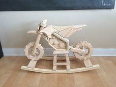 Dirtbike Rocking Horse