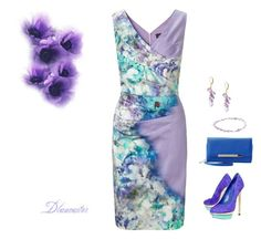"""Garden Party!"" by diane-711 on Polyvore featuring Ariella, Brian Atwood, Charlotte Russe, Lori Kaplan Jewelry and Grayson"