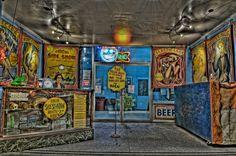Coney Island Side Show, by Louis Trociola   ♥ ♥ www.paintingyouwithwords.com