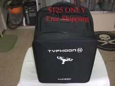 Typhoon H Back Pack with Foam, 6 new Props in the Box, and a new Charger with Cables Camera Drones For Sale, Drone For Sale, Charger, Lunch Box, Packing, Backpacks, Free Shipping, Bags, Accessories