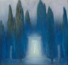 Baron Arild RosenkrantzDanish, 1870 - 1964 The Mysterious Portal Date: circa 1938