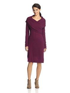 Cullen Women's Long Sleeve Sweater Dress (Blackberry)