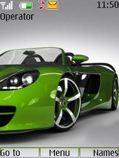 Download Green Car Theme Nokia Theme | Mobile Toones