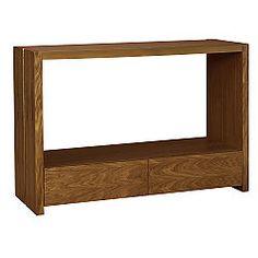 Fraser Console Table Walnut Finish, 0000005228140  £49.50