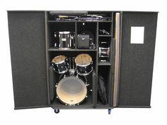 Acoustic Drum Case | by PortableChurch