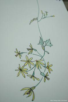 도고 세계꽃식물원에서 만난 꽃입니다. 워낙 도안화하기 좋은 형태이어서 담기도 담아왔지만 실제로는 향이...