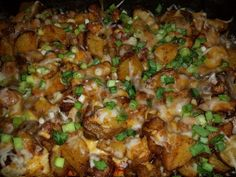 Potato and Chicken Casserole! 5.00 stars, 11 reviews. @allthecooks #recipe #chicken #casserole #dinner #potatoes #potato