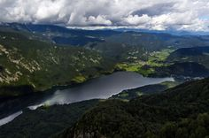 Bohinj – a Beautiful Valley and a Lake Embedded in the Mountains, Slovenia