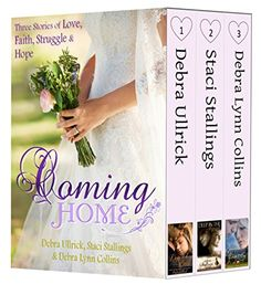 Coming Home: (Contemporary Christian Romance Boxed Set): Three Stories of Love, Faith, Struggle & Hope by Debra Ullrick http://www.amazon.com/dp/B00UF6GYSG/ref=cm_sw_r_pi_dp_CuNiwb17DM4RW
