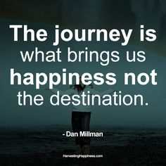A great quote from one of the guests we had a few hours ago Dan Millman