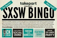 Are you Austin-bound this weekend? Play #sxswbingo to consume responsibly, and most importantly, ~be cool~. #SXSW