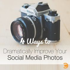 4 Ways to Dramatically Improve Your Social Media Photos via BuzzSumo Home Based Business, Online Business, Business Tips, Image Tips, Customer Engagement, Photography Tips For Beginners, Take Better Photos, Content Marketing Strategy, Social Media Tips