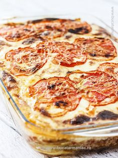Romanian Food, Pepperoni, Casserole Recipes, My Recipes, Lasagna, Healthy Living, Food And Drink, Pizza, Dinner