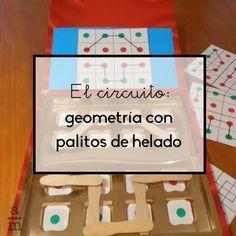 Trabaja la geometría con palitos de helado con alumnos de infantil. Este original juego les permitirá desarrollar las capacidades lógicas y espaciales. Maths, Geometry, Activities, Shapes, Special Education, Preschool Writing, Preschool Education, Geometry Activities, Infant Activities