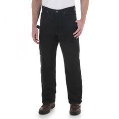 6fed777b 3W060BL Wrangler RIGGS WORKWEAR Ripstop Ranger Pant - Black Black Pants, Men's  Pants, Ranger