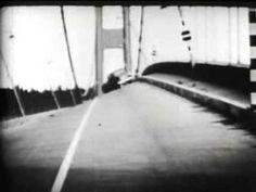 ▶ Tacoma Narrows Bridge Collapse (Sound Version) (Standard 4:3) (1940) - YouTube