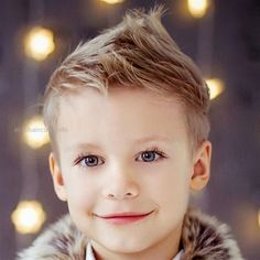 Faux Hawk with Short Faded Sides For Boys - Best Boys Haircuts: Cool Hairstyles For Little Boys and Tween Kids Hairstyles For Teenage Guys, Trendy Boys Haircuts, Older Mens Hairstyles, Boy Haircuts Short, Little Boy Hairstyles, Toddler Boy Haircuts, Cool Haircuts, Haircuts For Men, Hairstyles Haircuts