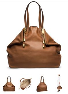 d6fc49ef8929 Large Miranda Zips Shopper by Michael Kors at Neiman Marcus.