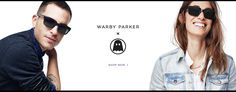 Warby Parker x Ghostly Prescription sunglasses and eyeglasses For every one bought, 1 is given away