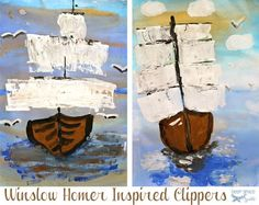 Winslow-Homer-Art-Project -- Open-ended art projects vs. guided art projects. interesting essay.