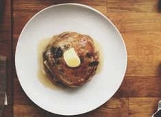 Blueberry Buckwheat Pancakes - Eat This Poem