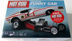 Ford Mustang Funny Car MPC/AMT #801 1/25 Scale New Car Model Kit