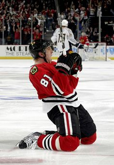 One unforgettable Hossa moment. #HossaWeek