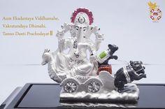 Aum Ekadantaya Viddhamahe, Vakratundaya Dhimahi, Tanno Danti Prachodayat॥