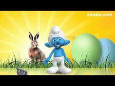 Osterhase, oh Osterhas..Ostergrüße Ostern ..Schlumpf einer der Schlümpfe von Zoobe deutsch - YouTube
