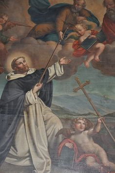 KRAKÓW - Saint Dominic receiving the mission from Ss Peter & Paul by Fergal of Claddagh, via Flickr