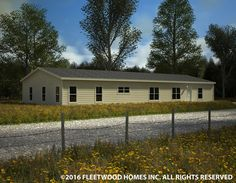 Carriage Manor II 32764X Fleetwood Homes