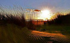 Faro Del Cantil Isla Cristina. Atardecer en Isla Isla Cristina. Provincia de Huelva (Andalucía)