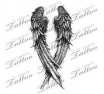 women angel showing back tattoos Tattoos Skull, Feather Tattoos, Tribal Tattoos, Body Art Tattoos, Tattoo Drawings, Celtic Tattoos, Dreamcatcher Tattoos, Angle Wing Tattoos, Angle Tattoo