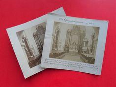 Vintage Albumin Foto 2 x Polizei Gefangenenhaus Kirche Wien Theodor Paßler 1875 Kirchen, Ebay, Cover, Vintage, Art, Pictures, Police, Art Background, Kunst