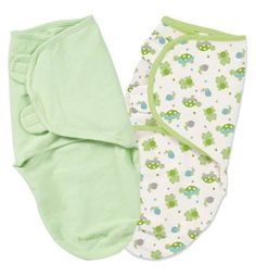 SwaddleMe is adjustable so it's easy to use and takes the stress out of swaddling.