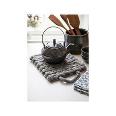Vlněná podložka pod horké nádoby A Simple Mess, 20x20cm