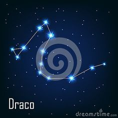 The King of Chrysos is reflected in the stars in Draco constellation.
