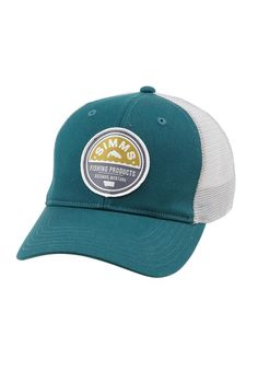 Patch Trucker Cap - Simms Fishing Products Cool Hats 46e85ca3ca76