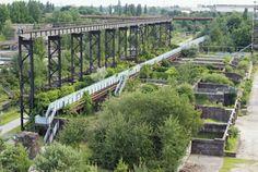 Duisburg-Nord Landscape Park: a mixture between urban and rural