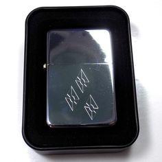 MLP Rarity Engraved Chrome Cigarette Favor Lighter Case Gift LEN-0093