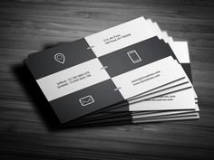 Metro Business Card by bouncy on Creative Market