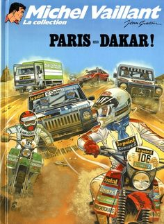 Michel Vaillant - La collection -41- Paris-Dakar - BD
