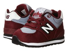 New Balance Kids 574 (Infant/Toddler) Burgundy - Zappos.com Free Shipping BOTH Ways