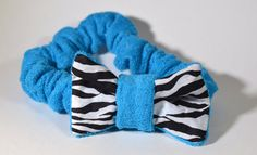 Turquoise Foofie Spa Headband holds hair back by bluegrassmorning, $15.00